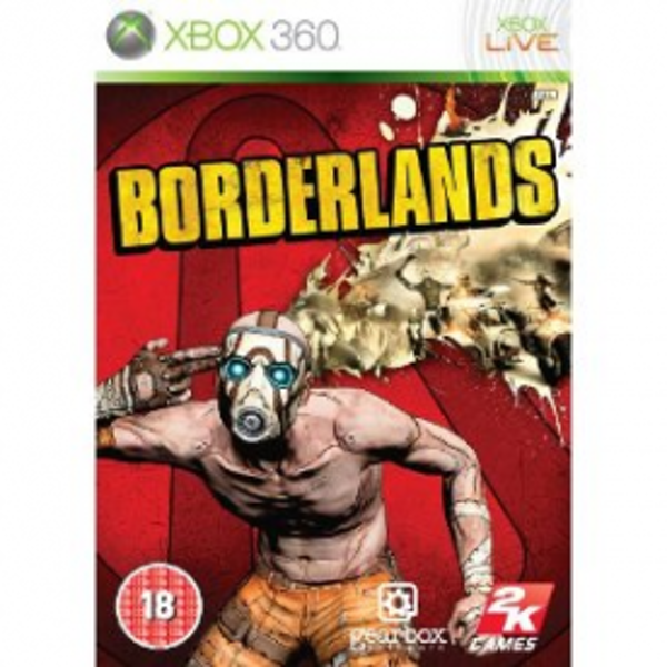 Borderlands Game Xbox 360