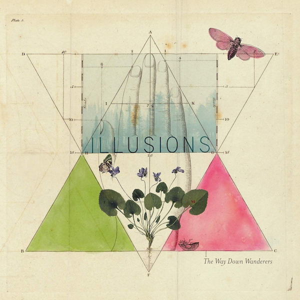 Way Down Wanderers - Illusions Clear  Vinyl