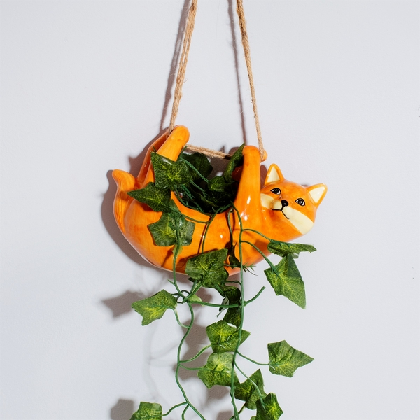 Sass & Belle Fox Hanging Planter