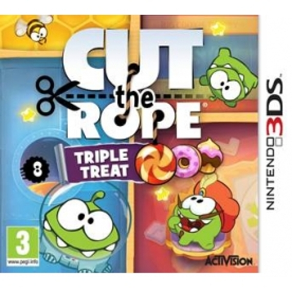 Cut The Rope Triple Treat Game 3DS