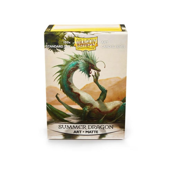 Dragon Shield 100 Matte Art- Summer Dragon Standard Sleeves (10 Packs)