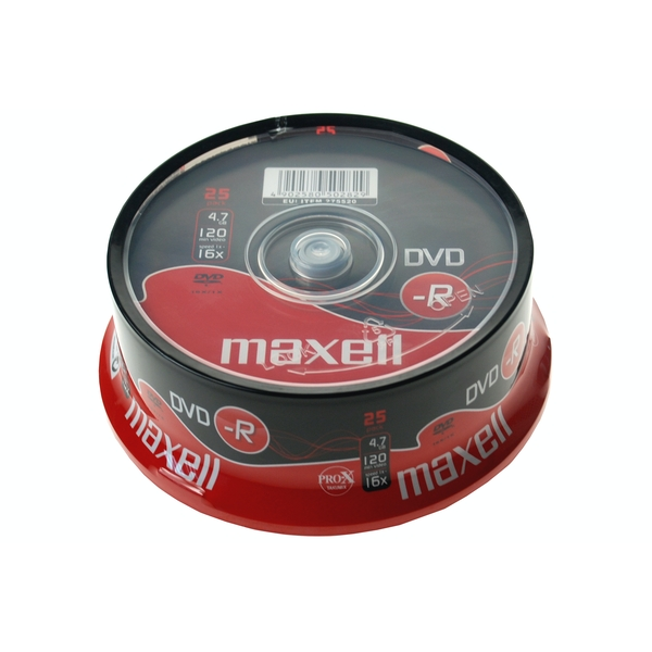 Maxell DVD-R 25 Pack Spindle