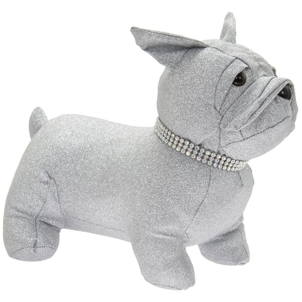 Silver Bling French Bulldog Doorstop By Lesser & Pavey