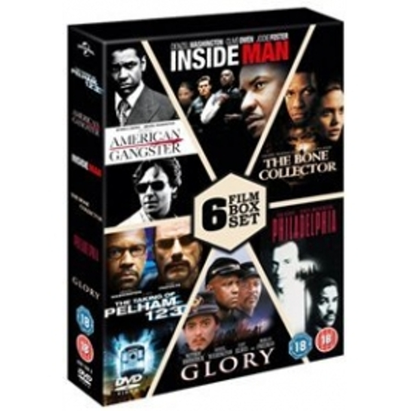 The Taking Of Pelham 1 2 3 / American Gangster / Inside Man / The Bone Collector / Philadelphia / Glory DVD