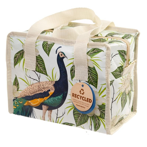 Peacock Small Lunch Bag