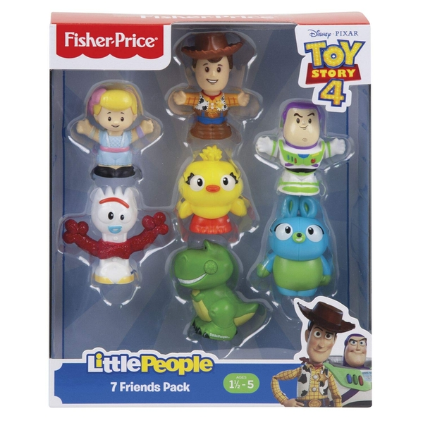 Toy Story 4 Little People 7 Figure Pack