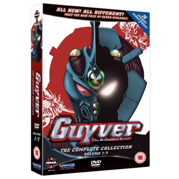Guyver The Bioboosted Armor Collection DVD