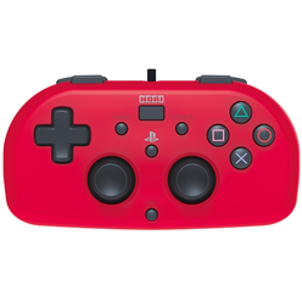 Image of Hori Wired Mini Gamepad PS4 Red
