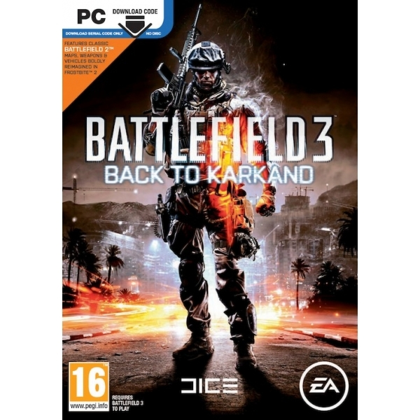 Battlefield 3 Expansion Back to Karkand Game PC