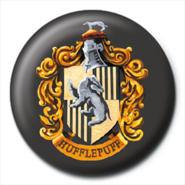 Harry Potter - Hufflepuff Crest Badge
