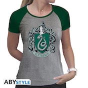 Harry Potter - Slytherin Women's X-Large T-Shirt - Green