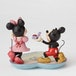 A Magical Moment (Mickey Proposing to Minnie Mouse Figurine) Disney Traditions Figurine - Image 2
