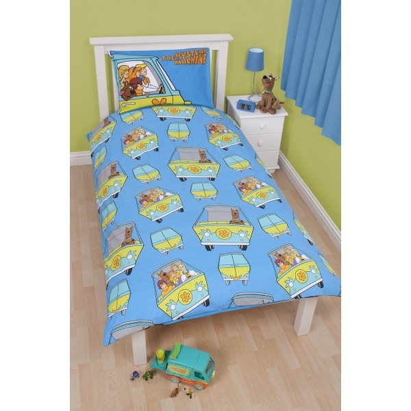 Scooby Doo Mystery Single Panel Duvet Set Image 2