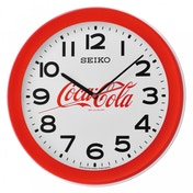 Seiko QXA922R Coca-Cola Wall Clock Red
