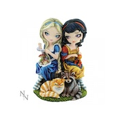 Alice & Snow White Statue