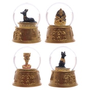 Gold Egyptian Waterball (Pack Of 4) Snow Globe