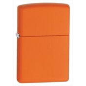 Zippo Regular Orange Matte Lighter