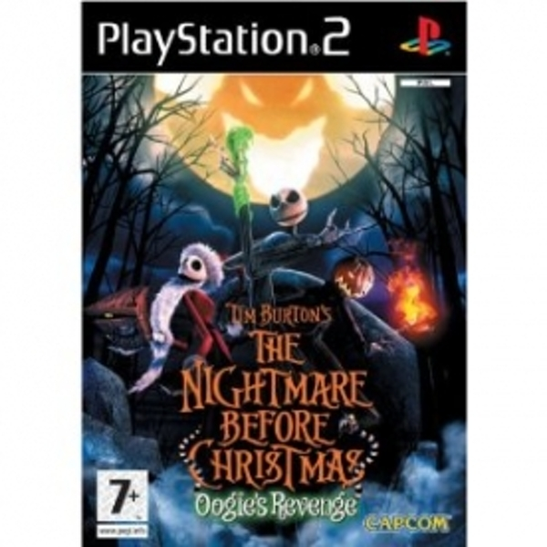 Ex-Display Tim Burton's the Nightmare Before Christmas Game PS2 Used - Like New