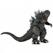 Damaged Packaging Godzilla (12 Inch Head to Tail) Action Figure Classic Godzilla 2001 Movie Used - Like New