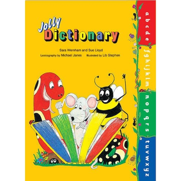 Jolly Dictionary (Hardback edition in print letters): American English by Sue Lloyd, Sara Wernham (Hardback, 2010)