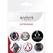 Assassins Creed Mix Badge Pack