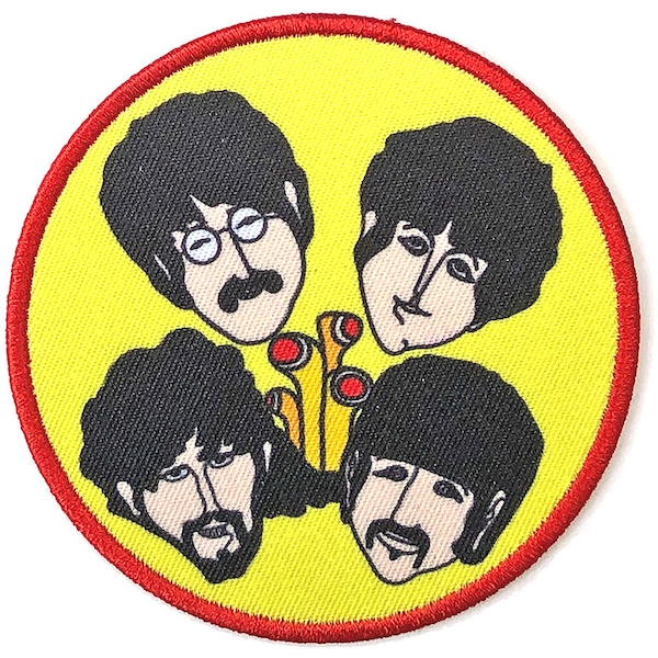 The Beatles - Yellow Submarine Periscopes & Heads Standard Patch