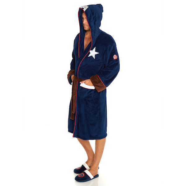 Captain America Marvel Civil War Outfit Bathrobe - Image 1