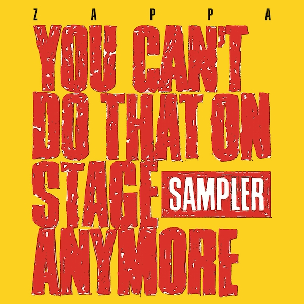 Zappa ‎– You Can't Do That On Stage Anymore Yellow & Red Transparent Vinyl