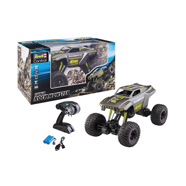 Revell ROCK MONSTER Crawler Radio Controlled Car
