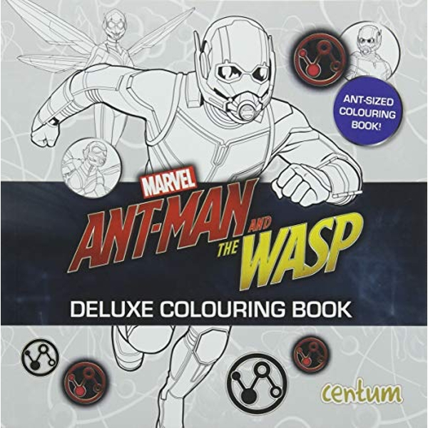 Ant-Man - Pocket Deluxe Colouring Book  Paperback / softback 2018