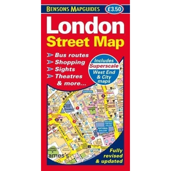 London Street Map  Sheet map, folded 2017