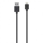 Belkin 3 m Lightning to USB 2.4amp Charge and Sync Cable for Apple iPhone 5  5c  5s  iPad Air  4th Generation and iPad Mini - Black (MFI Approved)