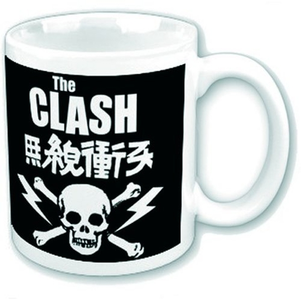 The Clash - Skull & Crossbones Boxed Standard Mug