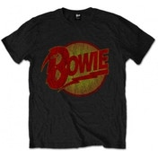 EXCLUSIVE David Bowie Diamond Dogs Vintage Logo TS: Small