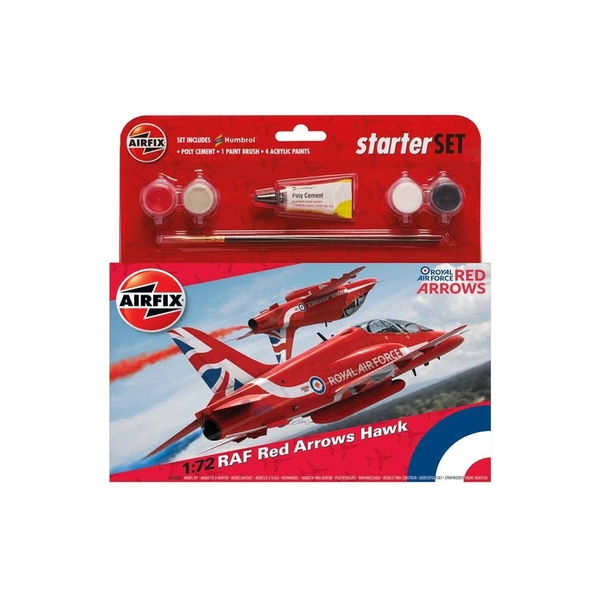 RAF Red Arrows Hawk 1:72 Air Fix Medium Starter Set