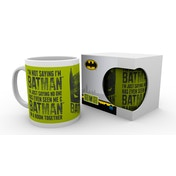 Batman Comic I'm Not Saying Mug