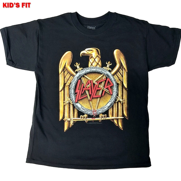 Slayer - Gold Eagle Kids 9 - 10 Years T-Shirt - Black