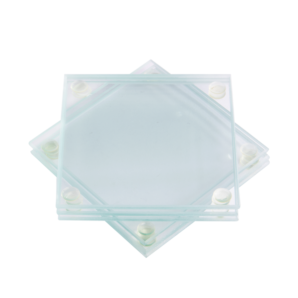 Glass Coasters - Set of 6 | M&W Square