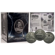 Universal Monsters Collectable Coin Set (Silver)