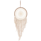 Cream String Dreamcatcher
