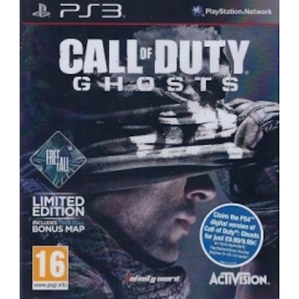 Call Of Duty Ghosts Game With Free Fall DLC PS3 - ozgameshop.com Call Of Duty Ghosts Maps Dlc on