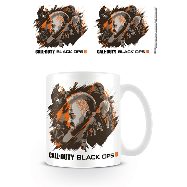 Call of Duty: Black Ops 4 - Group Mug