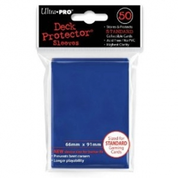 Ultra Pro 50 Deck Protector Solid Blue Case of 12