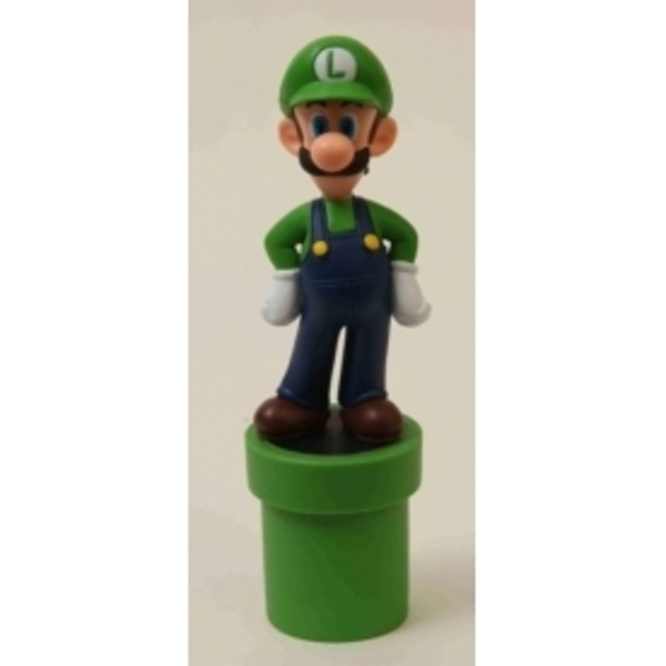 Ex-Display Super Mario Premium Figure - Luigi Used - Like New