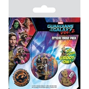 Guardians of the Galaxy Vol. 2 - Rocket & Groot Badge Pack