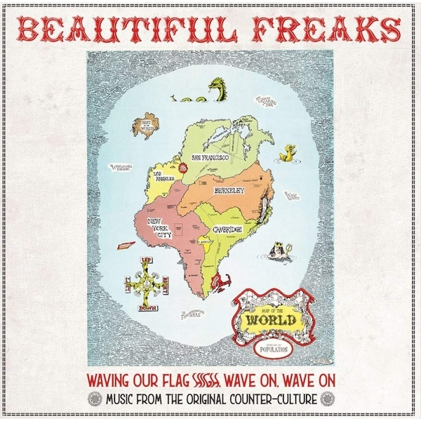 Various Artists - Beautiful Freaks - Waving Our Flag High Vinyl