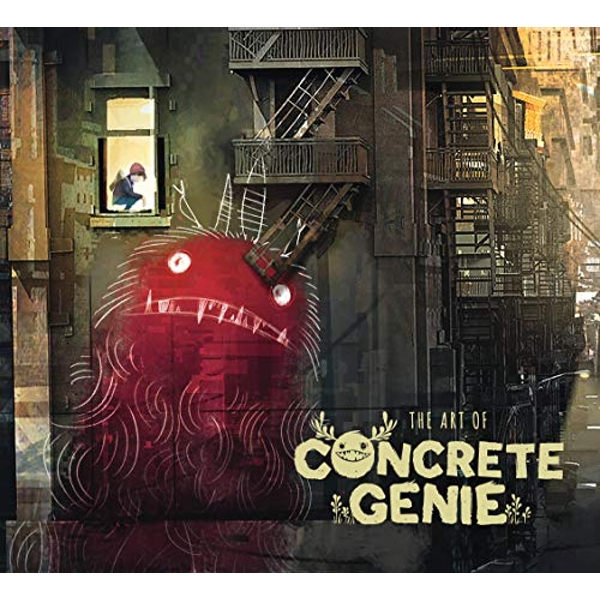 The Art Of Concrete Genie   Hardback 2019