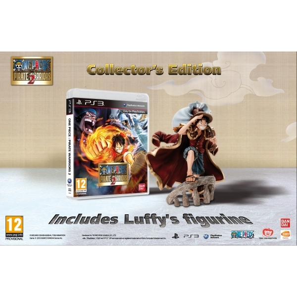 One Piece Pirate Warriors 2 Release Date Announced: One Piece Pirate Warriors 2 Collector's Edition Game PS3