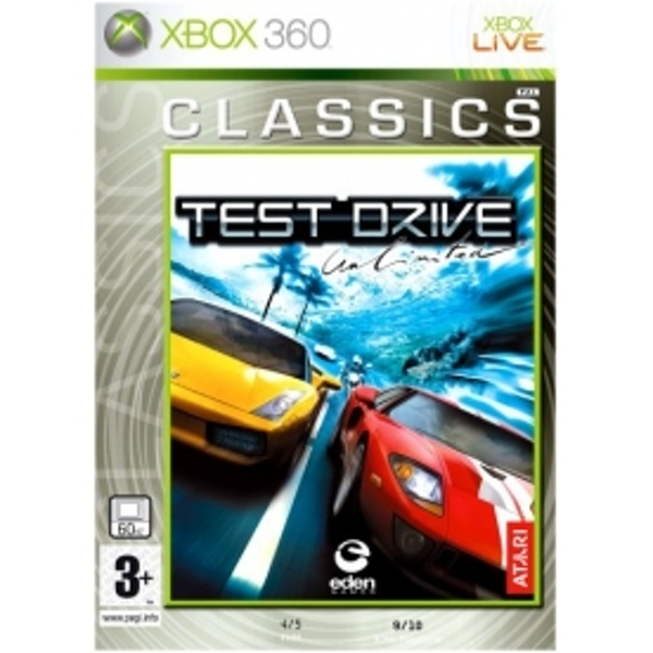 Test Drive Unlimited (Classics) Game Xbox 360