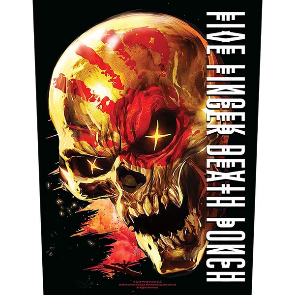 Five Finger Death Punch - And Justice for None Back Patch